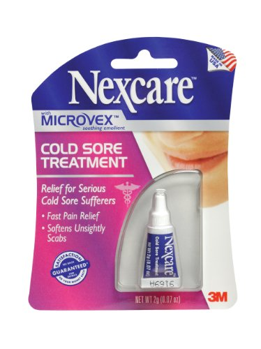 Nexcare cold sore treatment, 0. 07 ounce – signs and symptoms of herpes.