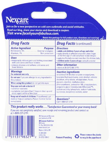 Rite aid lip care cold sore treatment gel, 0. 23 oz, 1 count | rite aid.